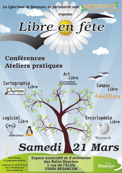 Besançon Fête du Libre 2009