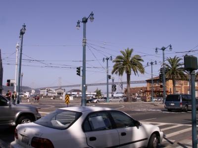 Market street, direction of Bay Bridge